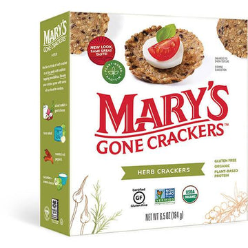 Herb Gluten Free Crackers 184g