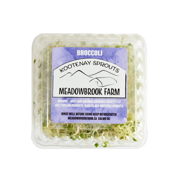 Meadowbrook Farm Broccoli Sprouts 112g 112g
