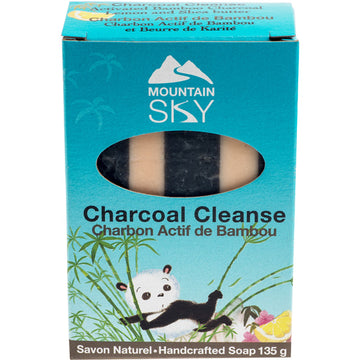 Charcoal Cleanse Bar Soap 135g
