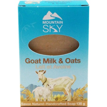 Goat Milk and Oats Bar Soap 135g