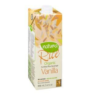 Vanilla Fortified Rice Beverage Organic 946ml