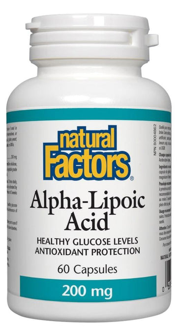 Alpha Lipoic Acid 400mg 60c