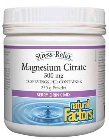Magnesium Citrate Berry Powder 250g