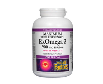 RxOmega-3 900mg Triple Strength 150c