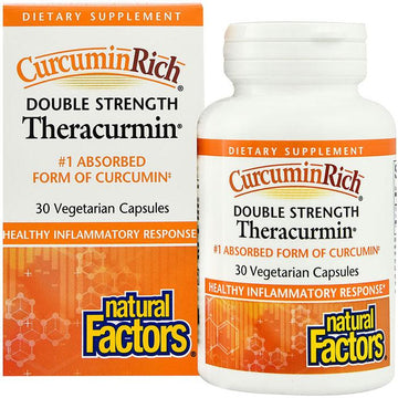 Theracurmin Double Strength 60mg (30c/60c/120c)