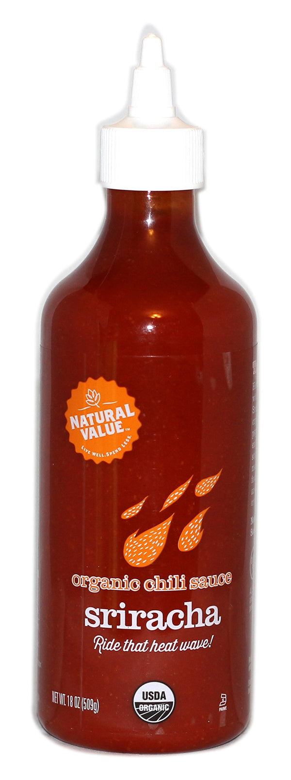 Natural Value Organic Sriracha Sauce 509g 509g
