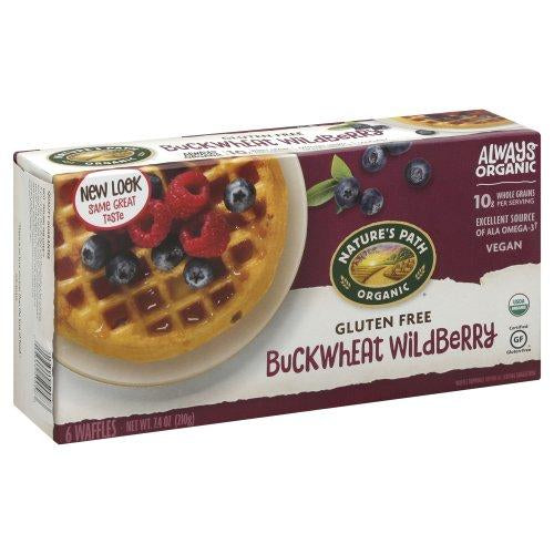 Nature's Path Buckwheat Wildberry Organic Waffles 210g 210g