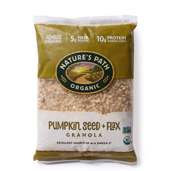 Nature's Path FlaxPlus Pumpkin Eco Pac Granola 750g 750g