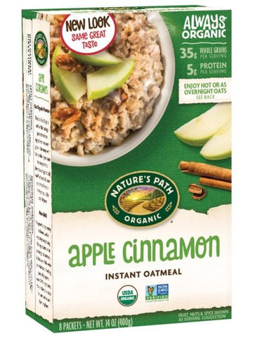 Instant Oatmeal Apple Cinnamon 8x50g