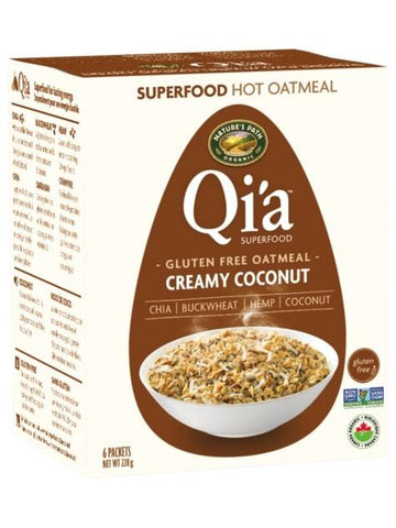 Qia Hot Cereal Coconut 6x38g