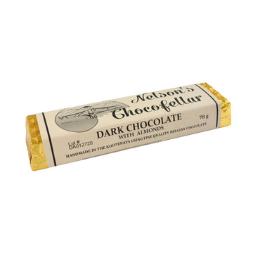 Dark Chocolate Almond Bar 78g