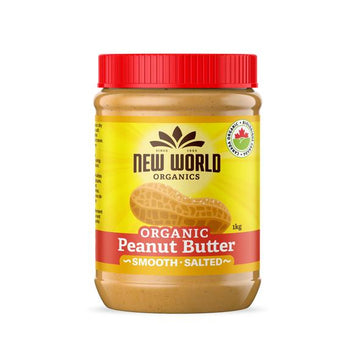 Peanut Butter Smooth Salted Organic 1 Kg