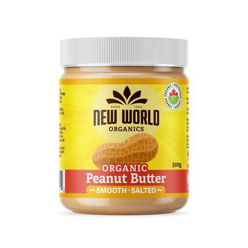 Peanut Butter Smooth Salted Organic (500g/1kg)