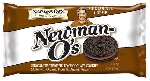 Newman's Own Double Chocolate Sandwich Cookies 226g 226g