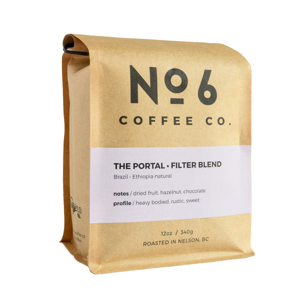 No6 Coffee The Portal Filter Blend 340g 340g