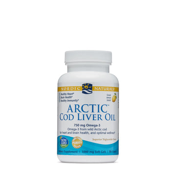 Arctic Cod Liver Oil Lemon 90c