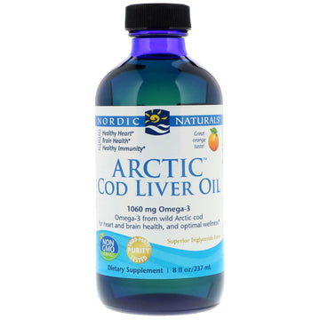 Arctic Cod Liver Oil Orange (237ml/473ml)