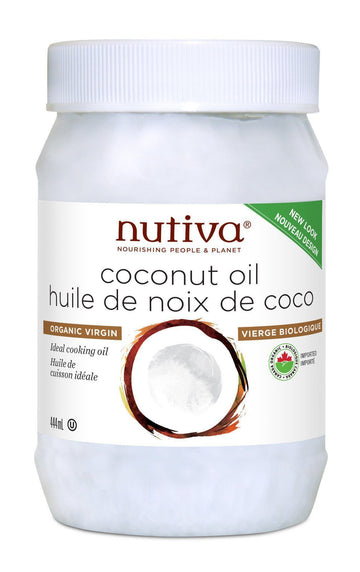 Coconut Oil Extra Virgin Organic (444ml/860ml)