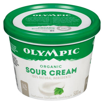 Sour Cream Organic 500ml
