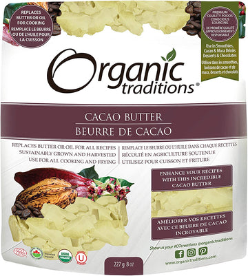 Cacao Butter Organic 227g