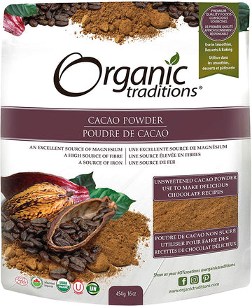 Cacao Powder Organic 454g