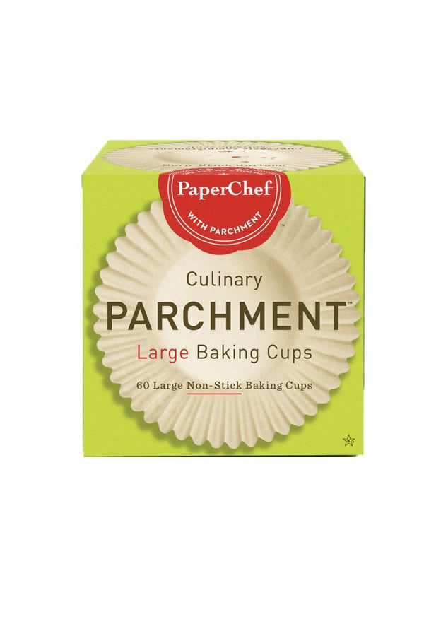 Paper Chef Baking Cups Large 60ea 60ea