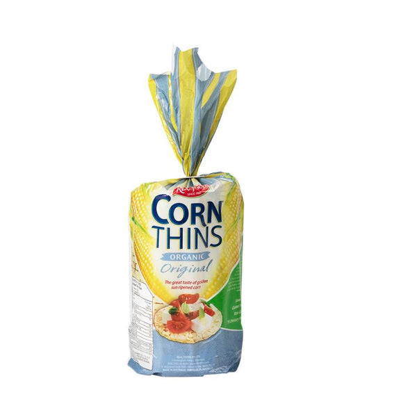 Real Foods Original Corn Thins 150g 150g