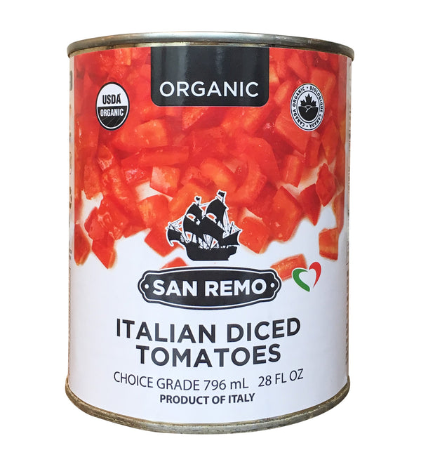 San Remo Diced Tomatoes Organic 796ml 796ml