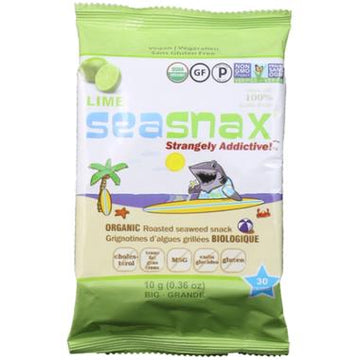 Lime Grab & Go Seaweed Snacks 10g