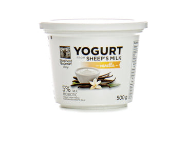 Vanilla Sheep Milk Yogurt 500g