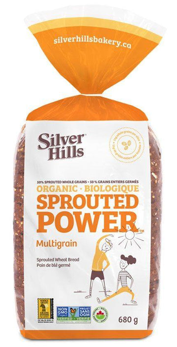 Sprouted Power Soft Wheat Bread 680g