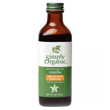 Vanilla Extract No-Alcohol Organic 118ml