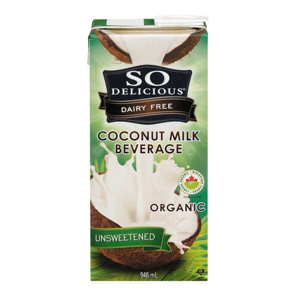 So Delicious Unsweetened Coconut Milk Beverage 946ml 946ml
