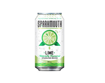 Lime Sparkling Water 355ml