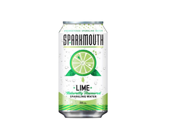 Sparkmouth Lime Sparkling Water 355ml 355ml