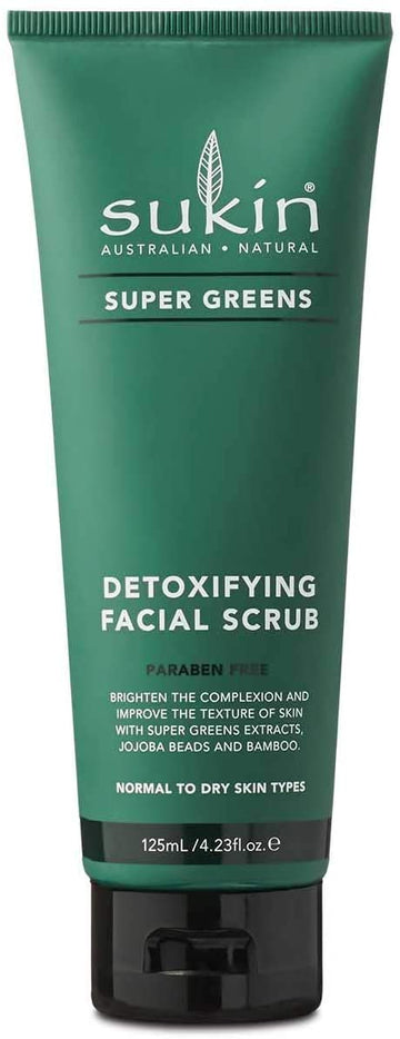 Detoxifying Facial Scrub Super Greens 125ml