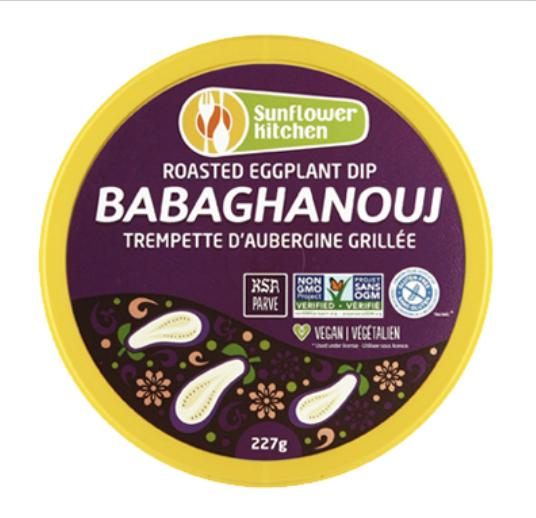 Sunflower Kitchen Babaghanouj Hummus 227g 227g