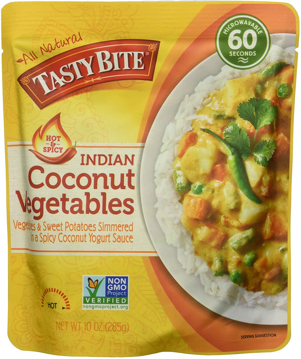 Tasty Bite Hot & Spicy Coconut Vegetables 285g 285g