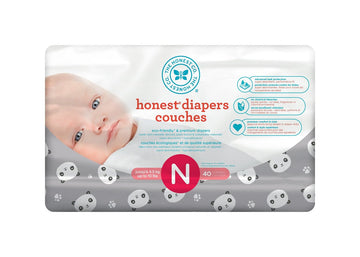 Diapers Newborn Pandas 40ct