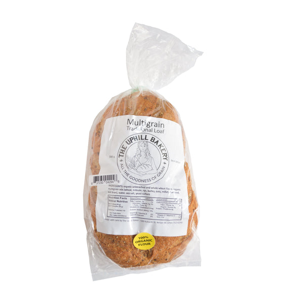 The Uphill Bakery Organic Multigrain Bread 500g 500g