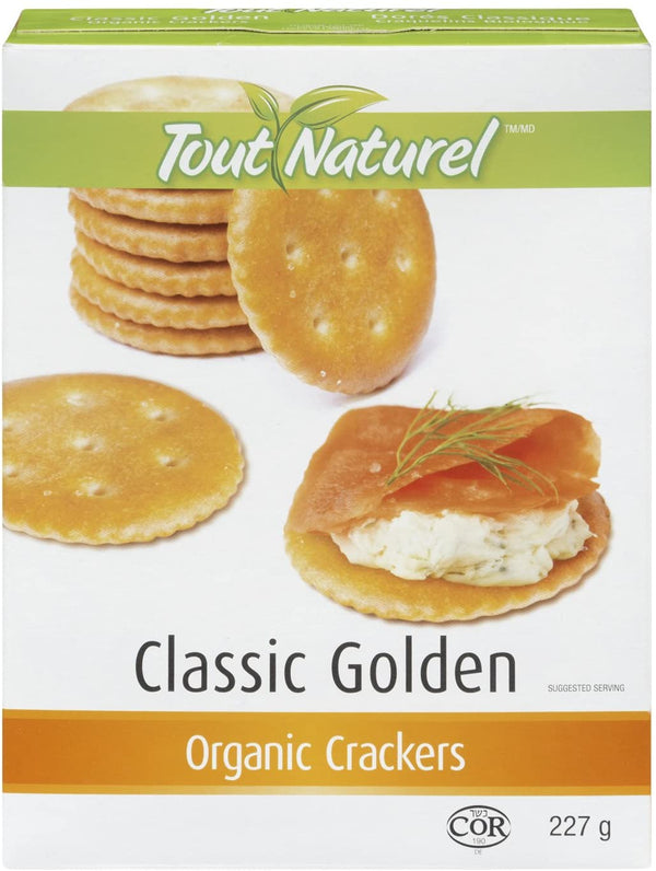 Tout Natural Organic Golden Crackers 227g 227g