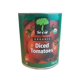 Organic Diced Tomatoes 796ml