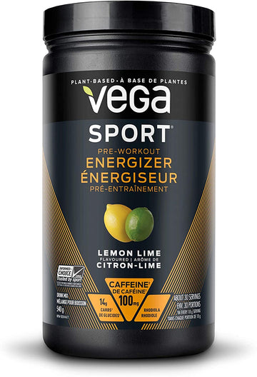 Pre Workout Energizer Lemon Lime  540g