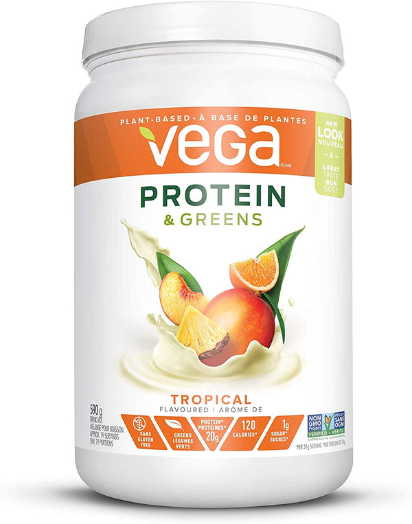 Vega Protein & Greens Tropical 590g