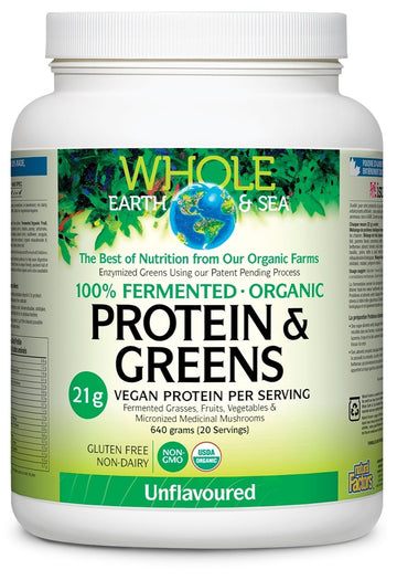 Fermented Protein & Greens Unflavoured 640g