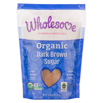 Dark Brown Organic Sugar 680g