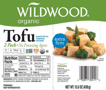 Sprouted Tofu Extra Firm 2 Pack 439g