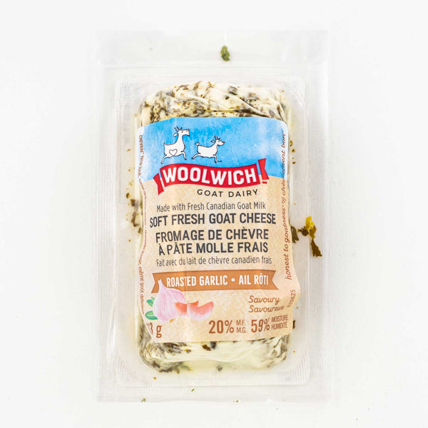 Woolwich Roasted Garlic Chevrai 113g 113g