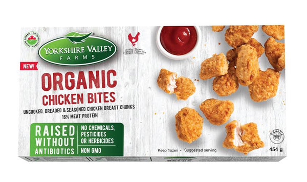 Yorkshire Valley Organic Chicken Bites 454g 454g