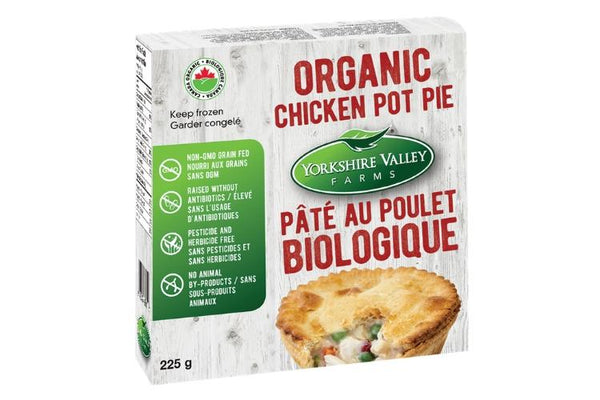 Yorkshire Valley Organic Chicken Pot Pie indiv 225g 225g